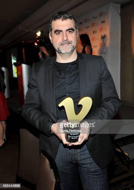 Writer/Director Sotiris Dounoukos winner of the Vimeo Award for Best International Short Film Award for 'A Single Body' attends the TIFF Awards...