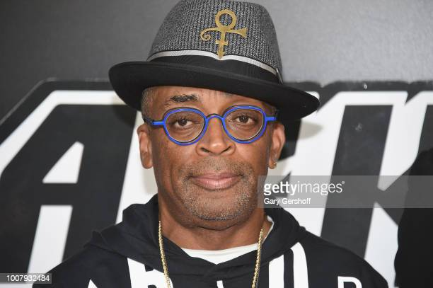 Writer/director Spike Lee attends the 'BlacKkKlansman' New York premiere at Brooklyn Academy of Music on July 30 2018 in New York City