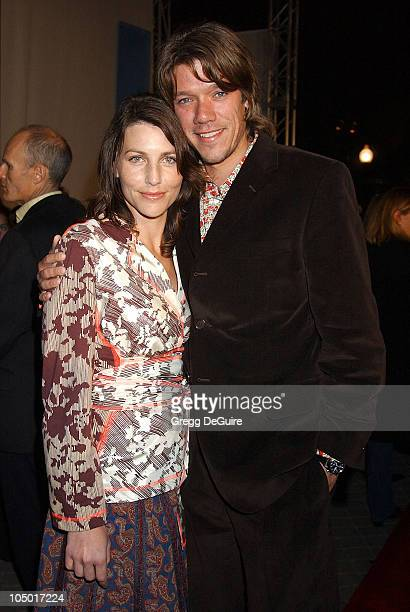 Writer/director Stephen Gaghan wife during Abandon Premiere Los Angeles at Paramount Studios in Los Angeles California United States