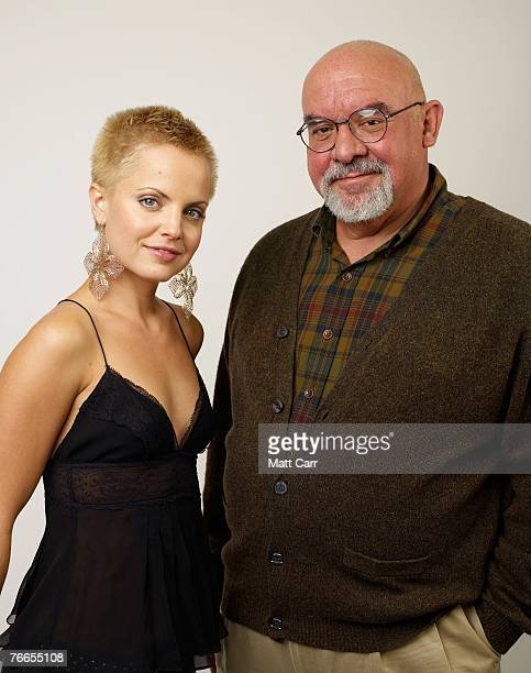 """Writer/director Stuart Gordon and actress Mena Suvari from the film """"Stuck"""" pose for a portrait in the Chanel Celebrity Suite at the Four Season..."""