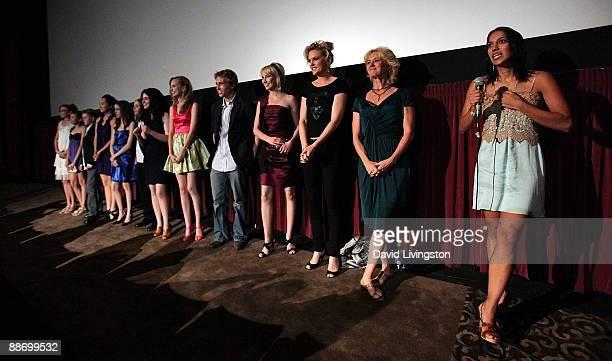 Writer/director Suzi Yoonessi and actors Melissa Leo, Elaine Hendrix, Savanah Wiltfong, Shayne Topp, Meaghan Jette Martin, Vanessa Marano, Chase...