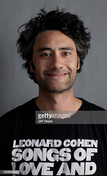 Writer/director Taika Cohen poses for a portrait during the 2010 Sundance Film Festival held at the WireImage Portrait Studio at The Lift on January...