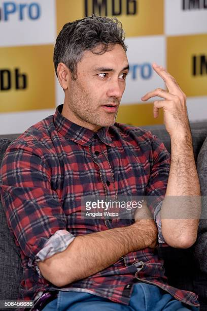 Writer/Director Taika Waititi in The IMDb Studio In Park City Utah Day Two on January 23 2016 in Park City Utah