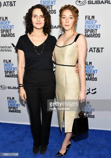 Writer/Director Tamara Jenkins actress Kayli Carter attend the 2019 Film Independent Spirit Awards Nominee Brunch at BOA Steakhouse on January 05...