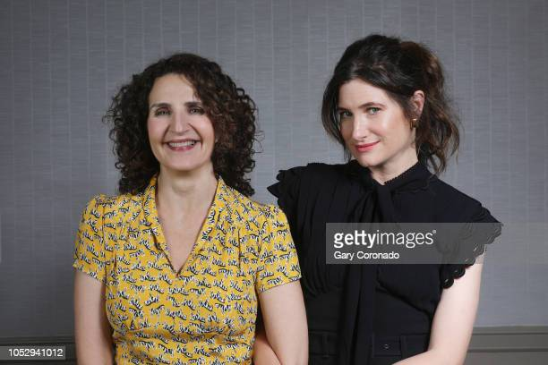 Writer/director Tamara Jenkins and actress Kathryn Hahn are photographed for Los Angeles Times on September 24 2018 in Los Angeles California...