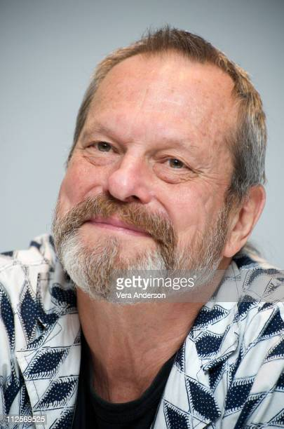 """Writer-director Terry Gilliam attends """"The Imaginarium of Doctor Parnassus"""" press conference at the Park Hyatt on September 11, 2009 in Toronto,..."""