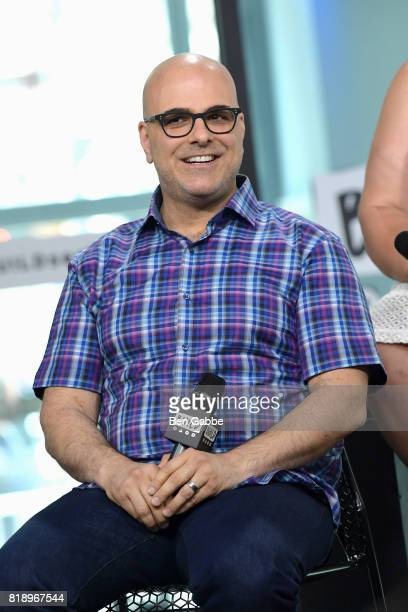 Writer/director Tony Leondis attends the Build Series to discuss the new movie The Emoji Movie at Build Studio on July 19 2017 in New York City