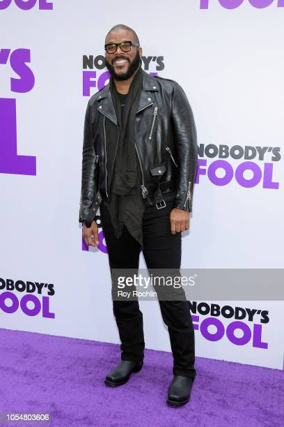 Writer/Director Tyler Perry attends the world premiere of 'Nobody's Fool' at AMC Lincoln Square Theater on October 28 2018 in New York New York