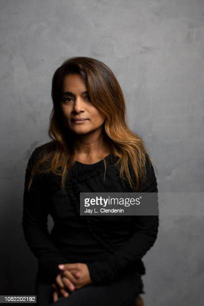 Writer/director Veena Sud from 'The Lie' is photographed for Los Angeles Times on September 11 2018 in Toronto Ontario PUBLISHED IMAGE CREDIT MUST...