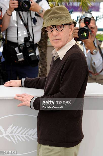 Writer/director Woody Allen attends the 'You Will Meet A Tall Dark Stranger' Photocall held at the Palais des Festivals during the 63rd Annual...
