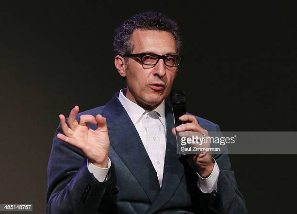 Writer/director/actor John Turturro attends Meet the Filmmaker John Turturro 'Fading Gigolo' at Apple Store Soho on April 16 2014 in New York City
