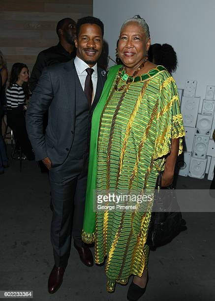 Writer/Director/Actor Nate Parker and actress Esther Scott attend 'The Birth Of A Nation' Party during the 2016 Toronto International Film Festival...