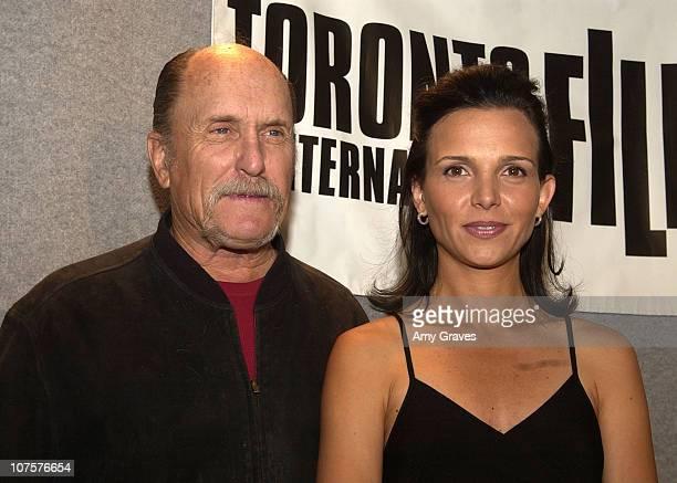Writer/director/actor Robert Duvall and Luciana Pedraza