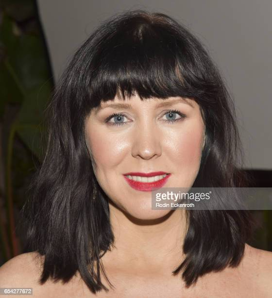 Writer/director/actress Alice Lowe attends screening of Shudder's 'Prevenge' at Cinefamily on March 16 2017 in Los Angeles California