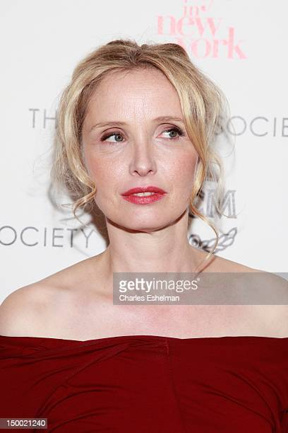 Writer/director/actress Julie Delpy attends The Cinema Society with MCM Greee Goose screening of Magnolia Pictures' 2 Days In New York at Landmark...
