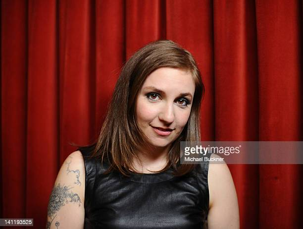 """Writer/Director/Actress Lena Dunham attends """"Girls"""" Greenroom Photo Op during the 2012 SXSW Music, Film + Interactive Festival at Paramount Theatre..."""