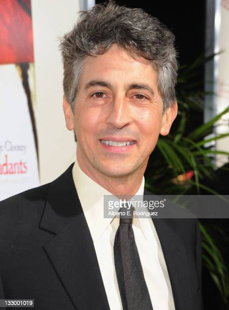 Writer/Director/Producer Alexander Payne arrives to the premiere of Fox Searchlight's The Descendants at AMPAS Samuel Goldwyn Theater on November 15...