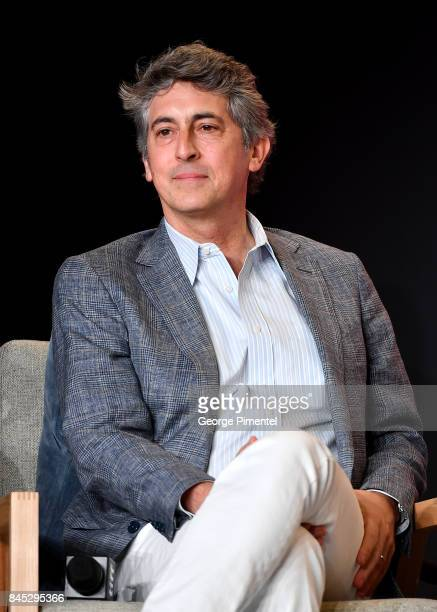 Writer/director/producer Alexander Payne speaks onstage at the Downsizing press conference during the 2017 Toronto International Film Festival at...