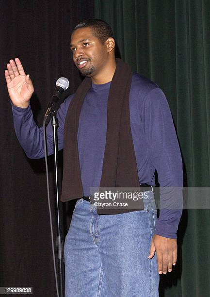 Writer/director/producer Brandon Sonnier during 2003 Sundance Film Festival The Beat Premiere at Prospector Theater in Park City Utah United States