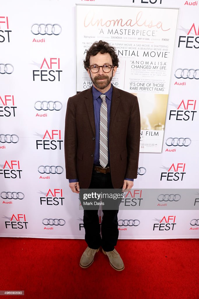 Writer/director/producer Charlie Kaufman attends the screening and Q&A for the Paramount Pictures film 'Anomalisa' at the Egyptian Theater on November 10, 2015 in Hollywood, California.