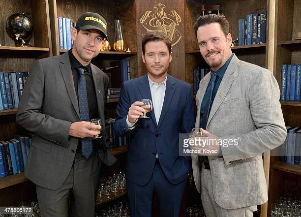 Writer/director/producer Doug Ellin and actors Kevin Connolly and Kevin Dillon attend the House Of Walker in celebration of Entourage opening night...