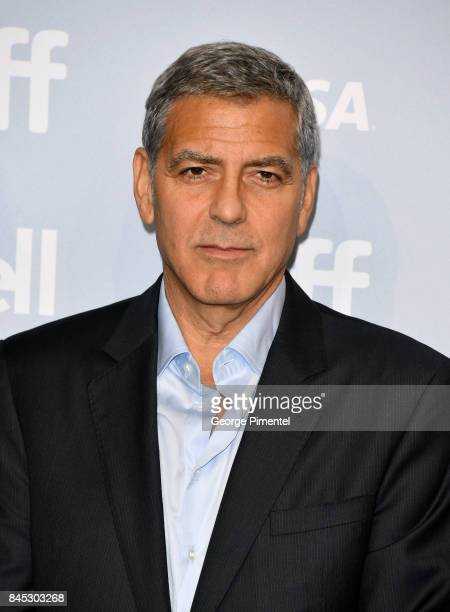 Writer/director/producer George Clooney attends the 'Suburbicon' press conference during the 2017 Toronto International Film Festival at TIFF Bell...