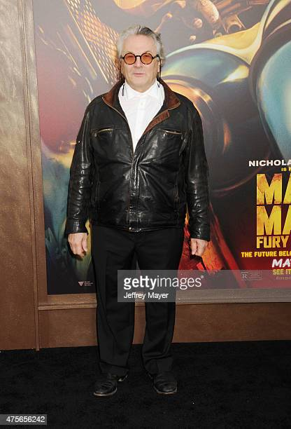 Writer/director/producer George Miller arrives at the Mad Max Fury Road Los Angeles Premiere at TCL Chinese Theatre IMAX on May 7 2015 in Hollywood...