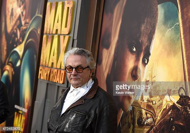 "Writer/Director/Producer George Miller attends the premiere of Warner Bros. Pictures' ""Mad Max: Fury Road"" at TCL Chinese Theatre on May 7, 2015 in..."