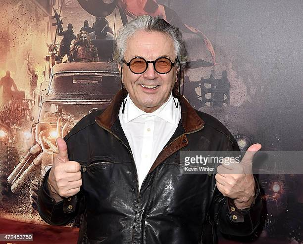 Writer/Director/Producer George Miller attends the premiere of Warner Bros Pictures' Mad Max Fury Road at TCL Chinese Theatre on May 7 2015 in...