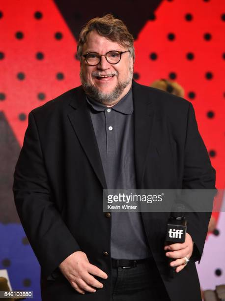 Writer/director/producer Guillermo del Toro attends 'The Shape of Water' press conference during 2017 Toronto International Film Festival at TIFF...