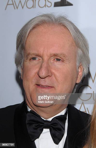 Writer/Director/Producer James Cameron arrives at the 2010 Writers Guild Awards held at the Hyatt Regency Century Plaza on February 20, 2010 in...