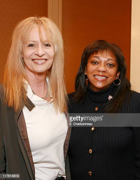 Writer/Director/Producer Penelope Spheeris and Women In Film's Cici Holloway