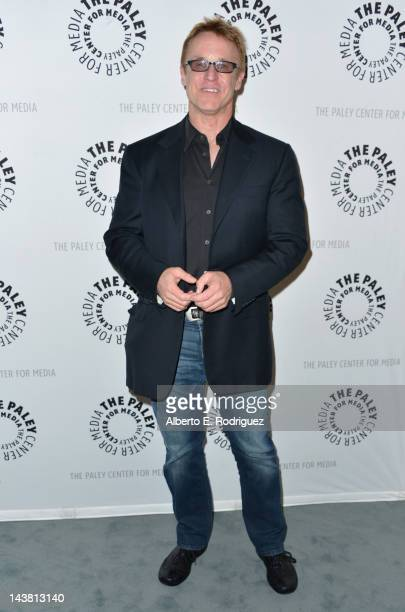 Writer/director/producer Peter Jones attends a screening of the PBS documentary American Masters Johnny Carson King of Late Night at The Paley Center...