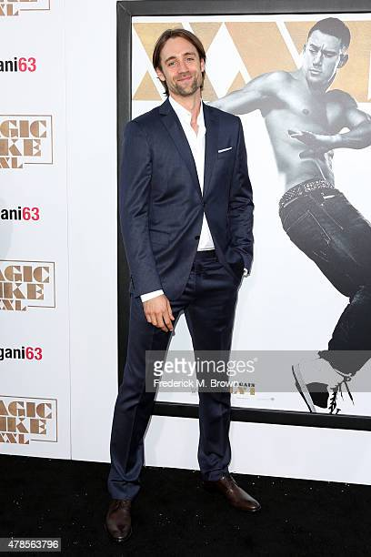 Writer/director/producer Reid Carolin attends the premiere of Warner Bros Pictures' Magic Mike XXL at TCL Chinese Theatre IMAX on June 25 2015 in...