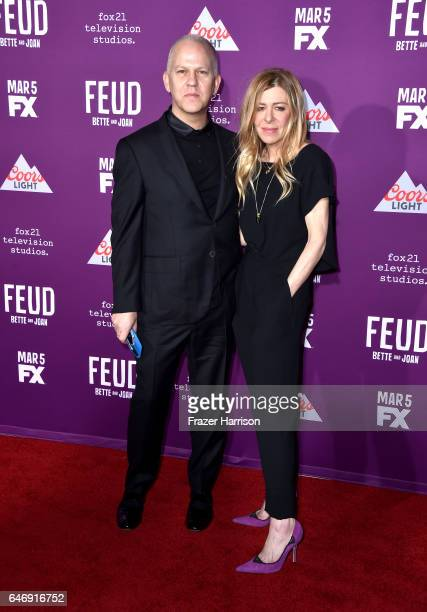 Writer/director/producer Ryan Murphy and producer Dede Gardner attend FX Network's Feud Bette and Joan premiere at Grauman's Chinese Theatre on March...