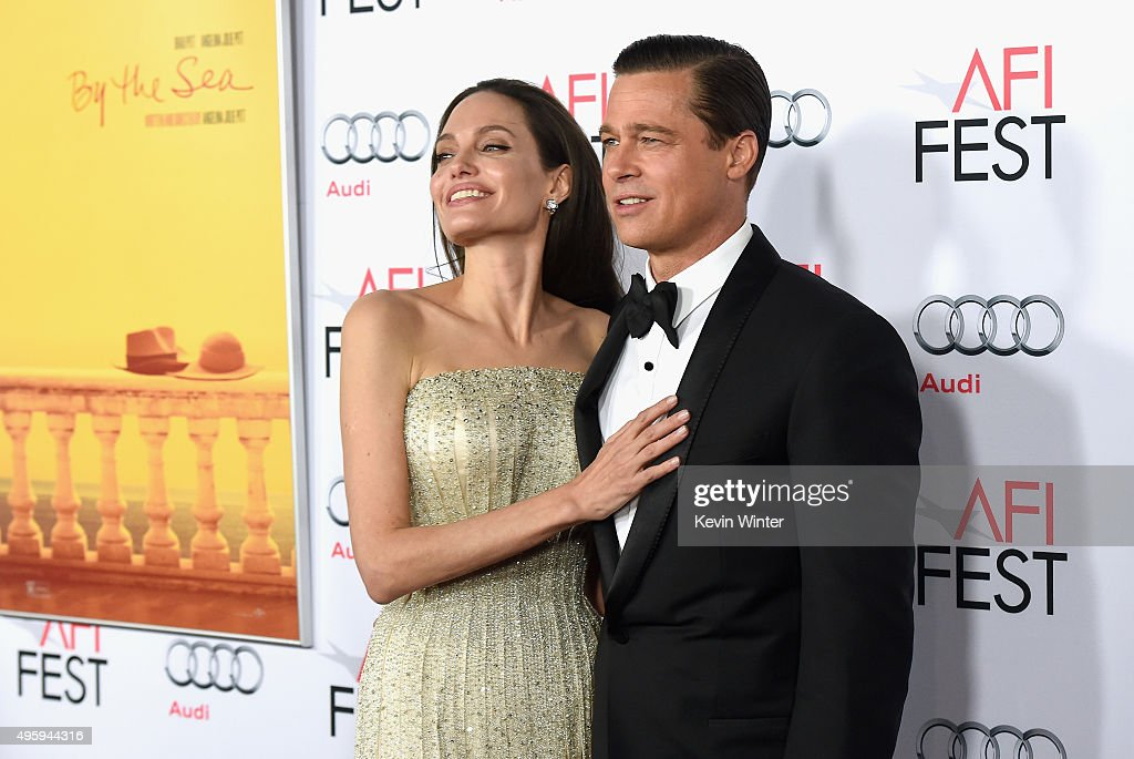 """AFI FEST 2015 Presented By Audi Opening Night Gala Premiere Of Universal Pictures' """"By The Sea"""" - Arrivals : Nachrichtenfoto"""