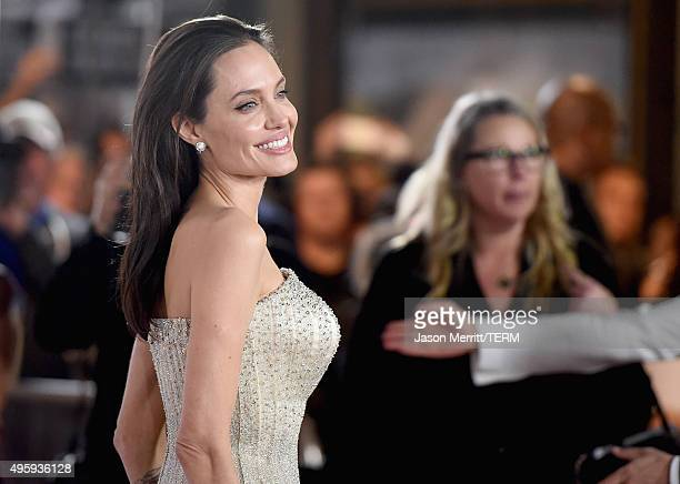 Writerdirectorproduceractress Angelina Jolie Pitt attends the opening night gala premiere of Universal Pictures' 'By the Sea' during AFI FEST 2015...