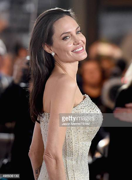 Writerdirectorproduceractress Angelina Jolie Pitt attends the opening night gala premiere of Universal Pictures' By the Sea during AFI FEST 2015...