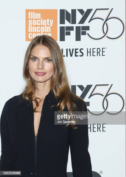 Writer/Editor Louise Kugelberg attends the 56th New York Film Festival premiere of At Eternity's Gate at Alice Tully Hall Lincoln Center on October...