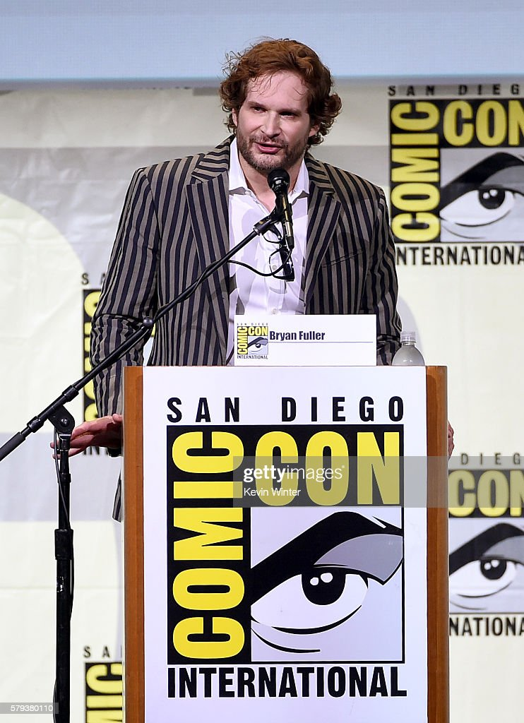 Writer/executive producer Bryan Fuller attends the 'Star Trek' panel during Comic-Con International 2016 at San Diego Convention Center on July 23, 2016 in San Diego, California.