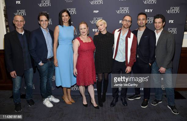 Writer/executive producer Joel Fields Steven Levenson Radhika Jones Nicole Fosse Michelle Williams Sam Rockwell LinManuel Miranda and Thomas Kail...