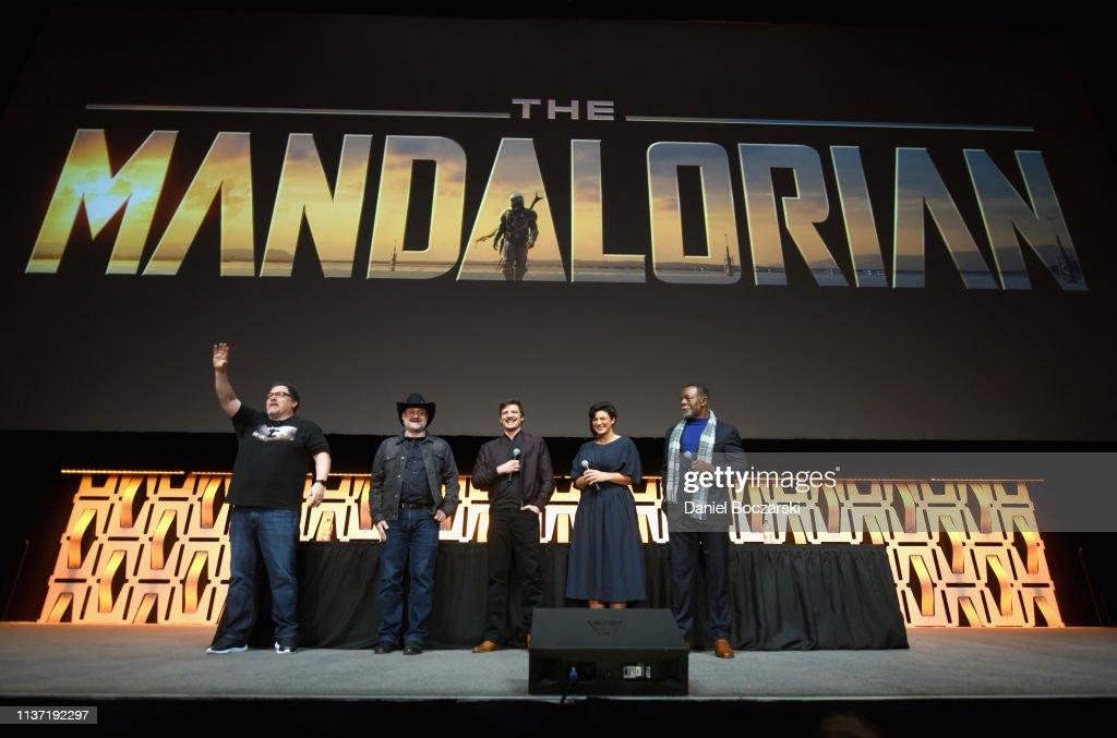 "Star Wars Celebration: ""The Mandalorian"" Panel : News Photo"