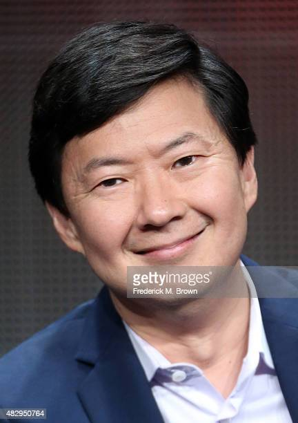 Writer/executive producer Ken Jeong speaks onstage during the 'Dr Ken' panel discussion at the ABC Entertainment portion of the 2015 Summer TCA Tour...