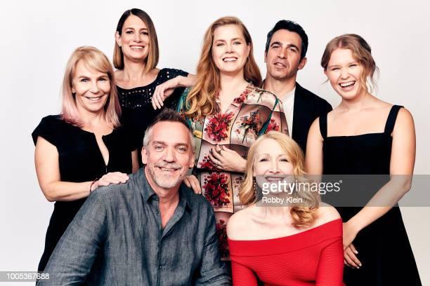 Writer/executive producer Marti Noxon author Gillian Flynn actor/executive producer Amy Adams actors Chris Messina Eliza Scanlen director JeanMarc...
