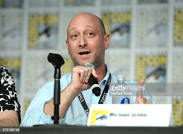 """Writer/executive producer Michael Green attends the """"American Gods"""" panel during Comic-Con International 2016 at San Diego Convention Center on July..."""