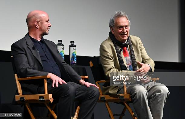 Writer/executive producer Nick Hornby and director/executive producer Stephen Frears attend panel for New York premiere of SundanceTV's new TV series...