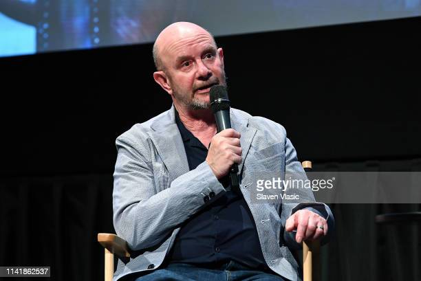 Writer/executive producer Nick Hornby attends screening and panel of Sundance TV's new TV series State Of The Union at IFC Center on May 6 2019 in...