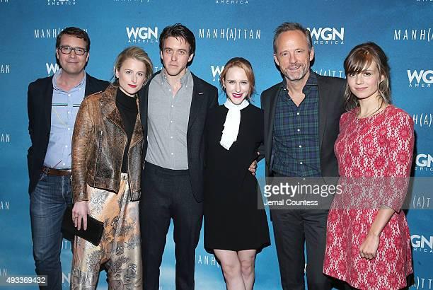 Writer/executive producer Sam Shaw actors Mamie Gummer Ashley Zuckerman Rachel Brosnahan John Benjamin Hickey and Katja Herbers attend the 11th...
