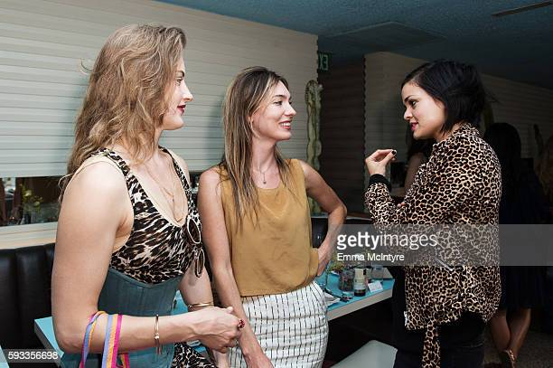 Writer/filmmaker Katharine O'Brien attends the Women of Cinefamily weekend closing party at The Standard Hollywood on August 21 2016 in West...
