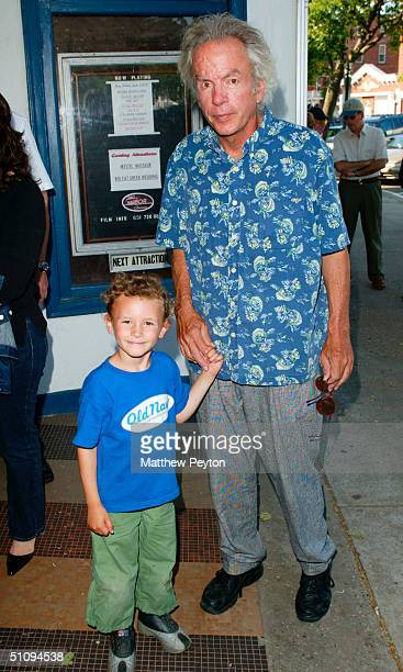 Writer/Filmmaker Spalding Gray And Son Theo Arrive For The Premiere Of The Hamptons June 1 2002 In Sag Harbor Ny